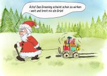 Allen meinen Besuchern ein schönes, grünes und gesundes Weihnachtsfest!